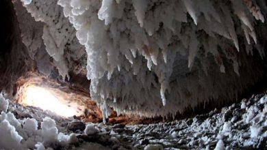 تصویر از غارهای نمکي ميکروکليمايي براي توريست درماني