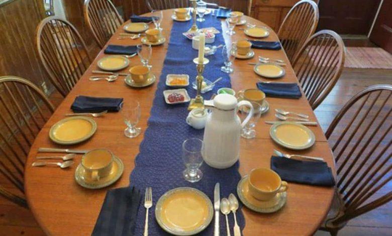 چیدمان میز آمریکایی