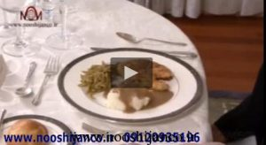 تصویر از فیلم طریقه خوردن غذای اصلی (main course)
