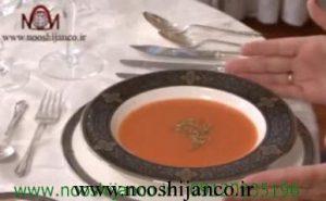 فیلم طریقه خوردن سوپ
