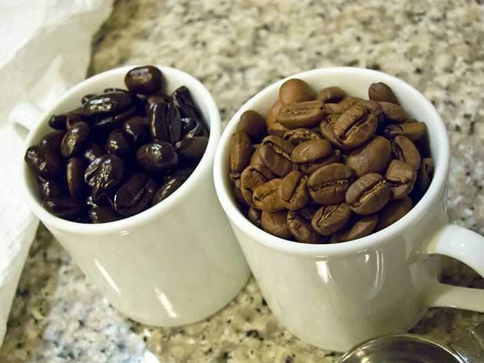 کافئین کدام قهوه بیشتر است2
