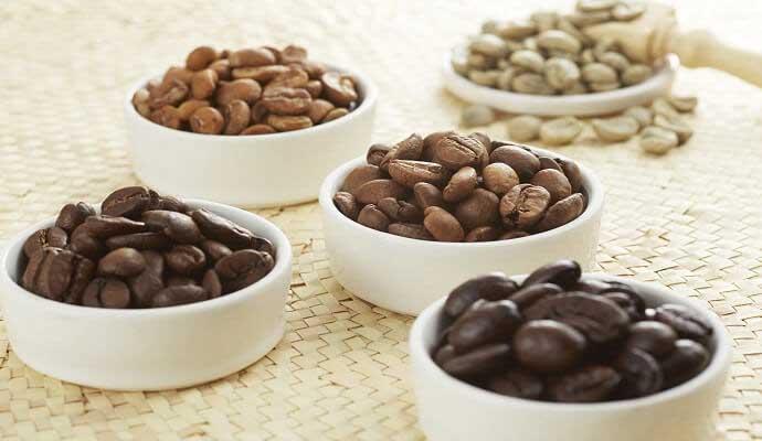 کافئین کدام قهوه بیشتر است1