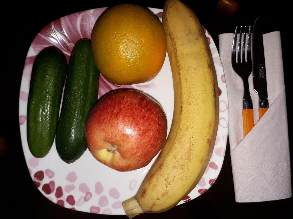آموزش چیدمان میوه ها