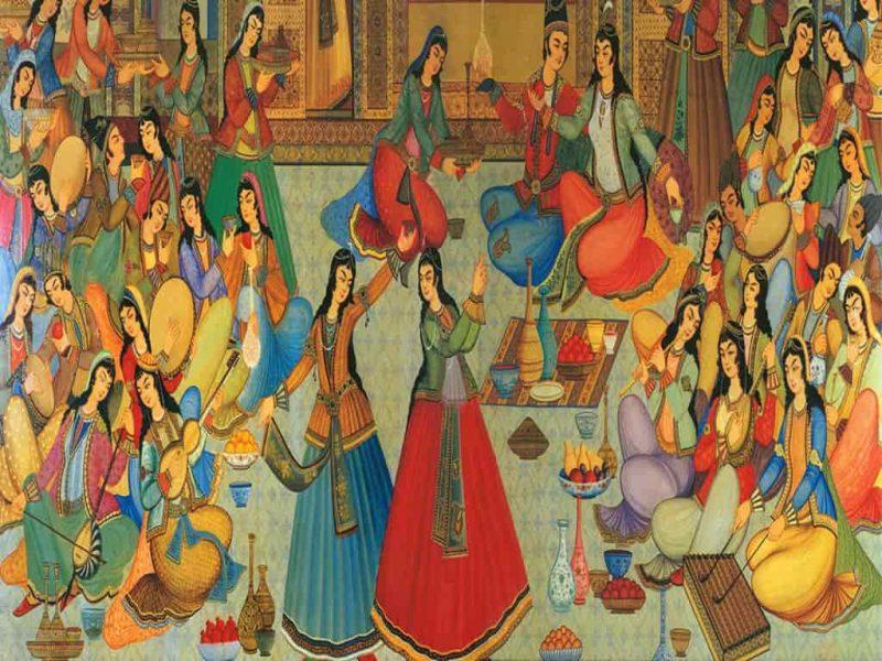 دانلود پروژه جشن در ایران باستان به صورتword