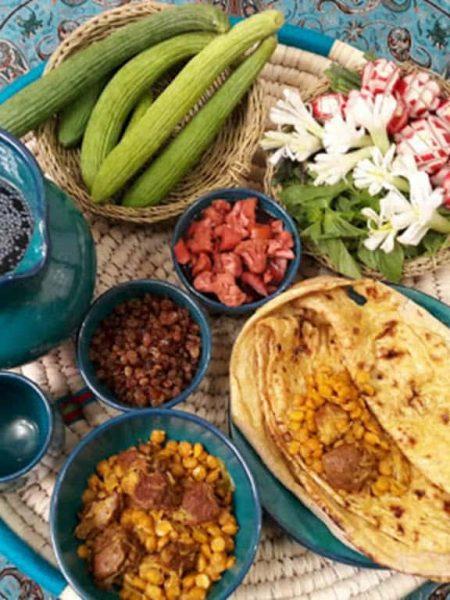 دانلود فایل ورد غذا های سنتی