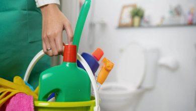 تصویر از نظافت سرویس بهداشتی+آموزش نظافتچیان اداری- نظافت دستشویی