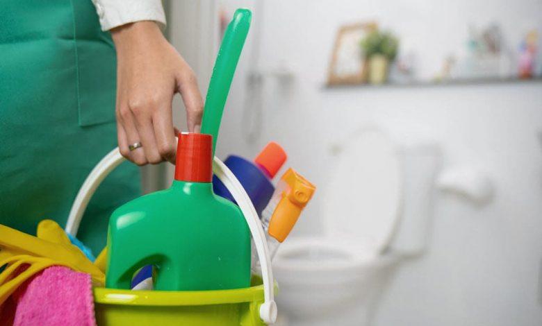 نظافت سرویس بهداشتی+آموزش نظافتچیان اداری- نظافت دستشویی