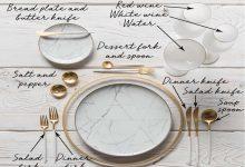 تصویر از چیدمان میز غذا (بایدها و نباید ها+فیلم)