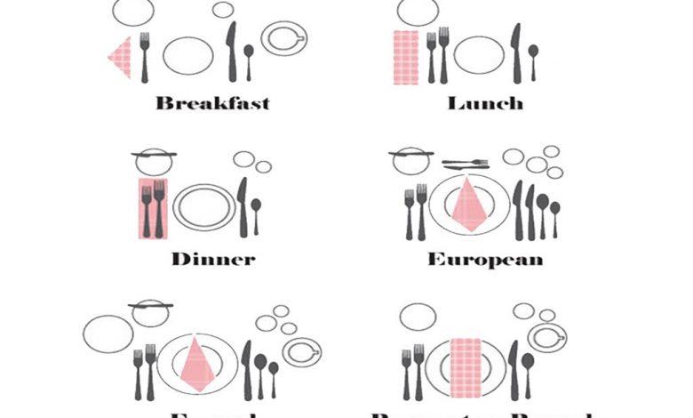 لوازم میز غذا خوری