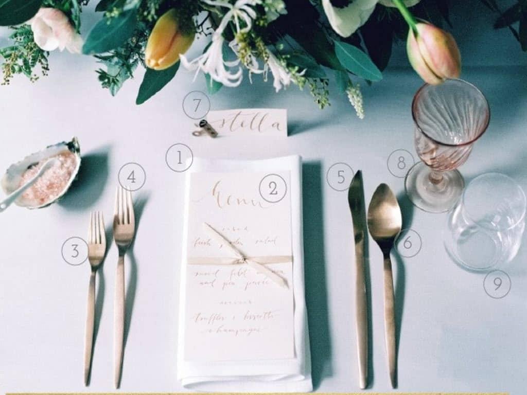 Dining table accessories 2 - ظروف غذا خوری+فیلم
