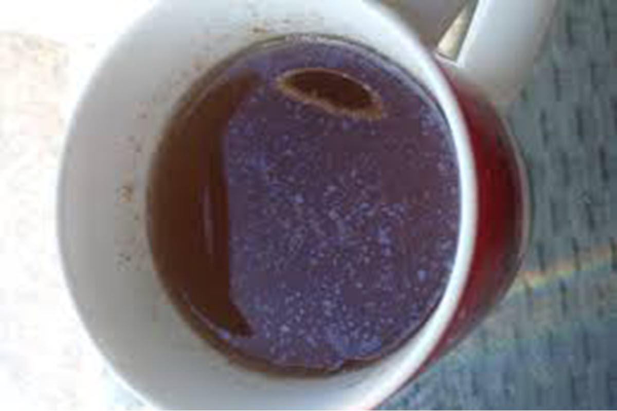 چربی روی چای